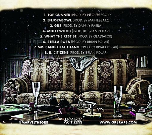GR8 tracklist